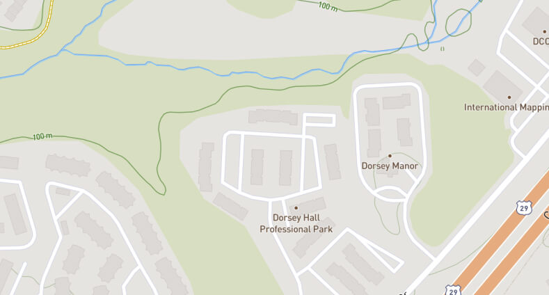 map of the location of the Julian Center for Effortless Sleep
